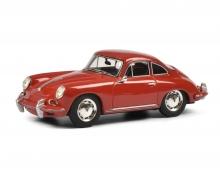schuco Porsche 356 SC rot 1:43