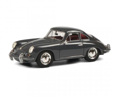 schuco Porsche 356 SC grey 1:43