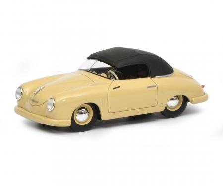 schuco Porsche 356 Gmünd Cabriolet closed, beige, 1:43