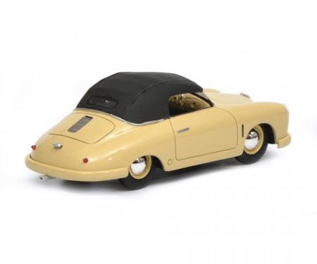schuco Porsche 356 Gmünd Cabriolet geschlossen, beige, 1:43