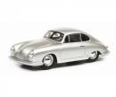 schuco Porsche 356 Gmünd Coupé, silver, 1:43
