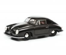 Porsche 356 Gmünd Coupé, schwarz, 1:43