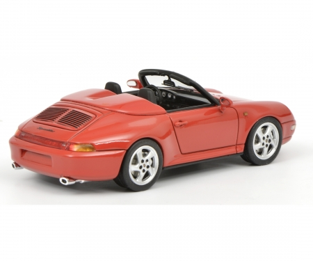 schuco Porsche 911 Speedster, red 1:43