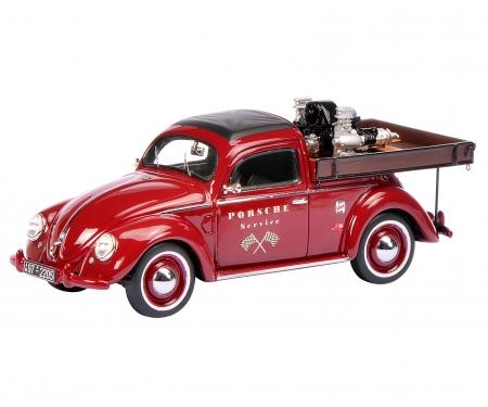 """VW Käfer """"Porsche Service"""" Beutler Pick Up with Carrera-Motor, 1:43"""