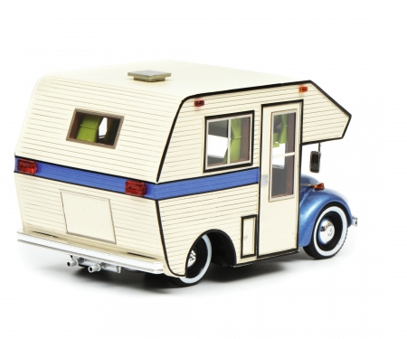 "VW Käfer ""Motorhome"", blue, 1:43"