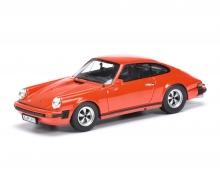 schuco Porsche 911 Coupé, indischrot 1:43