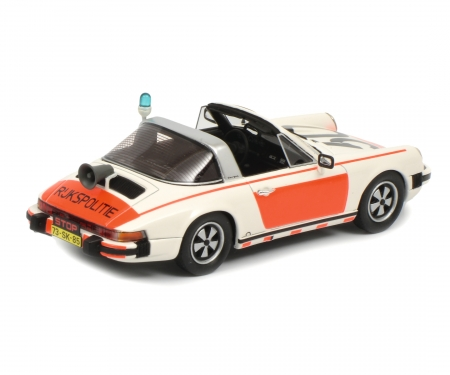 "schuco Porsche 911 Targa ""Rijkspolitie"" 1:43"