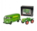 "Set ""Holder"", Holder A20 mit VW T1b Kastenwagen, 1:32"