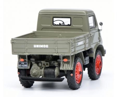 """Mercedes-Benz Unimog U 401 Westfalie cabin """"Froschauge"""", grey 1:32"""