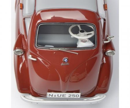 """VW T1b Pritschenwagen mit BMW Isetta Standard """"Autohaus Jakobi"""" 1:32"""