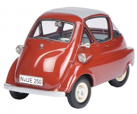 "schuco VW T1b pick up with BMW Isetta Standard ""Autohaus Jakobi"" 1:32"