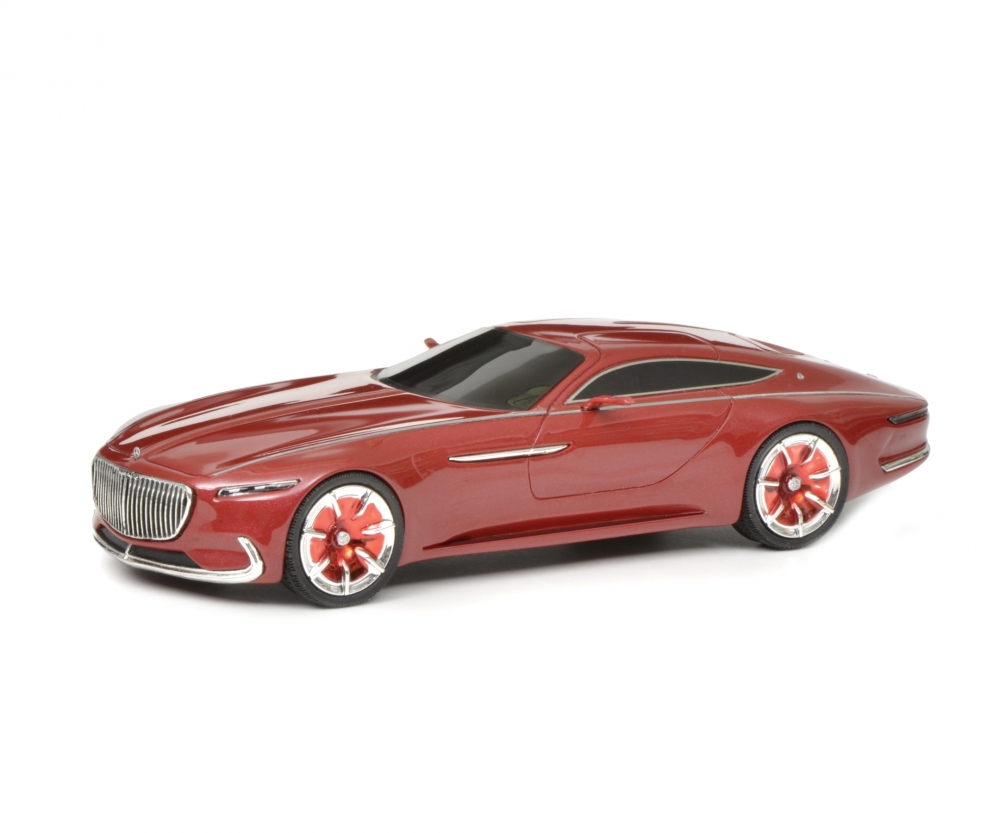 mercedes-maybach vision 6 coupé, rot, 1:43 - pro.r 43 - pkw modelle