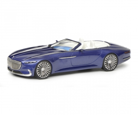 Mercedes-Maybach Vision 6 confertible, blue, 1:43