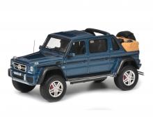 Mercedes-Maybach G650 Landaulet, blau, 1:43