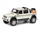 schuco Mercedes-Maybach G650 Landaulet, weiß, 1:43