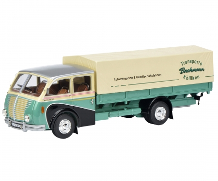 """Saurer 3C-H truck """"Bachmann""""  1:43"""