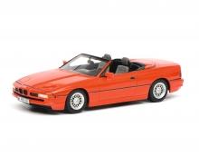 BMW 850i Cabriolet, rot 1:43