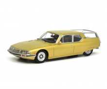 "schuco Citroën SM ""Shooting Brake"", gold metallic, 1:43"