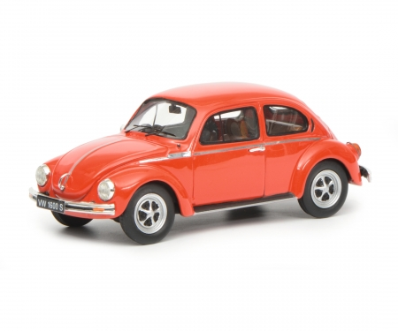 schuco VW Beetle 1600-S Super Bug, red, 1:43