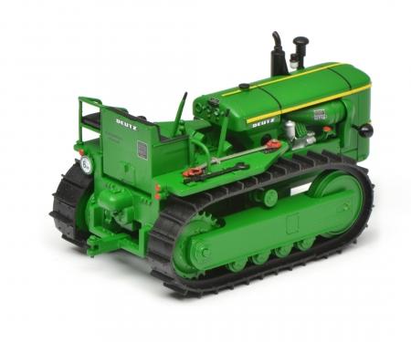 schuco Deutz 60 PS chain tractor, green, 1:32