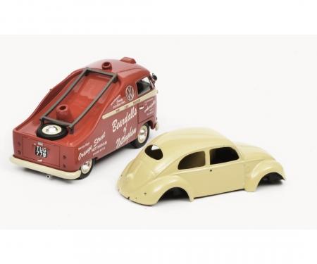 "schuco VW T1a ""Beardalls of Nottingham"", rot, 1:43"