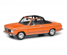 BMW 2002 Cabrio (Baur), orange, 1:43