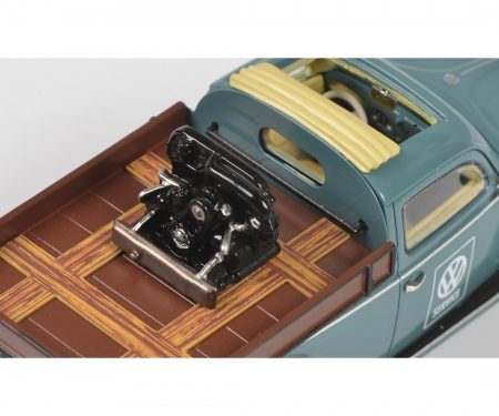 schuco VW Käfer Beutler Pick up 1:43