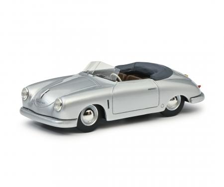 schuco Porsche 356 Gmünd silver 1:43