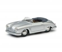 schuco Porsche 356 Gmünd silber 1:43