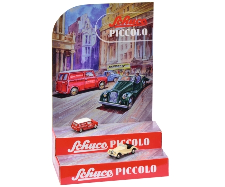 Piccolo Mini-Display I with Piccolo Mini-Van and Morgan +8