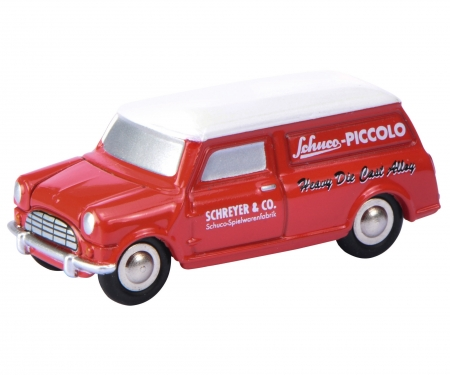 Piccolo Mini-Display I mit Piccolo Mini-Van und Morgan +8