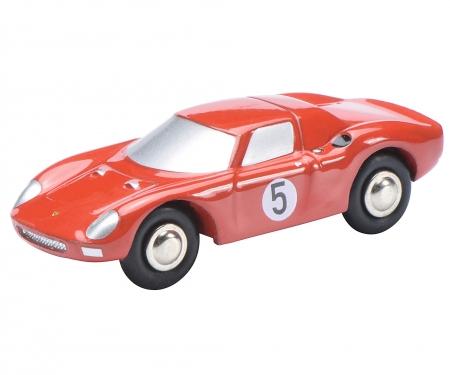 Piccolo Mini-Display II mit Piccolo Ferrari 250 Le Mans #5 und AC Cobra #6