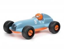 "schuco Studio Racer ""Blue-Pierre"" #8, blau orange"