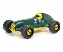 """schuco Studio Racer """"Green-Lewis"""" #3, grün gelb"""