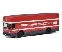 schuco Renntransporter Porsche 1:64