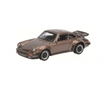 Porsche 911 Turbo 3.0, braun-metallic, 1:64