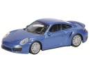 Porsche 911 Turbo (991), saphirblau-metallic, 1:64