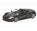Porsche 918 Spyder, matt schwarz, 1:64