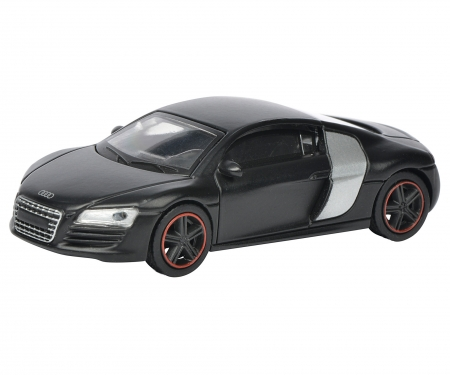 audi r8 coup concept black 1 64 edition 1 64 pkw. Black Bedroom Furniture Sets. Home Design Ideas