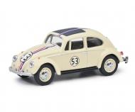 schuco VW Beetle Rallye #53 1:64