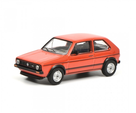 VW Golf I GTI, red 1:64