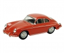 Porsche 356 Carrera 2, red 1:64