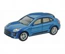Porsche Macan Turbo, blau metallic 1:64