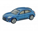 Porsche Macan Turbo, blue metallic 1:64