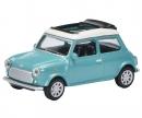 Mini Cooper Open Air, turquoise 1:64