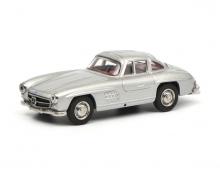 Mercedes-Benz 300SL, silver, 1:64