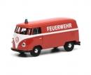 """schuco VW T1 box van """"Feuerwehr"""", 1:64"""