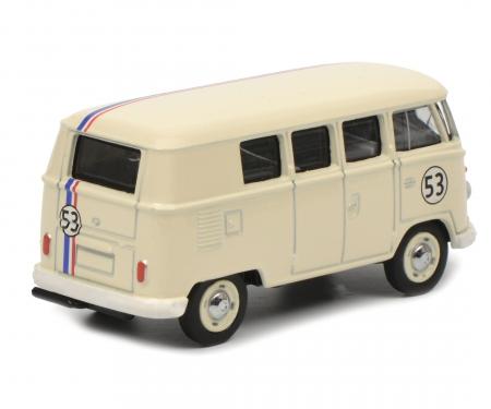 "schuco VW T1 bus #53 ""Rallye"", 1:64"