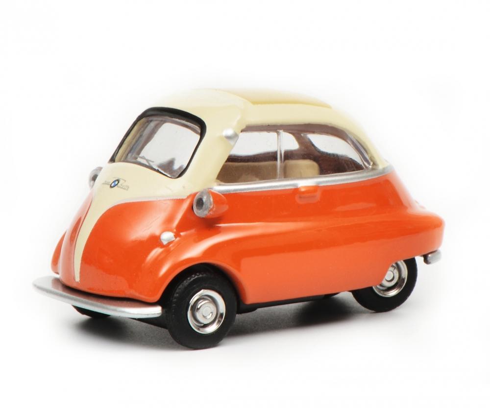 bmw isetta beige orange 1 64 pkw modelle modelle. Black Bedroom Furniture Sets. Home Design Ideas