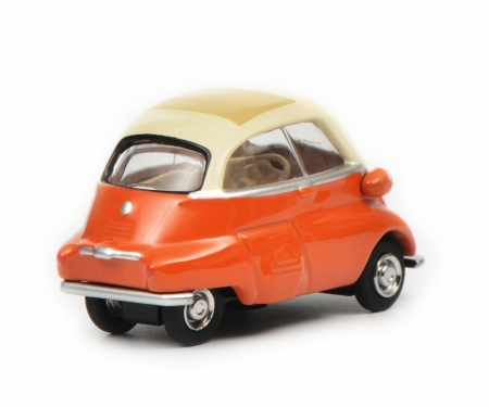 BMW Isetta, beige/orange, 1:64